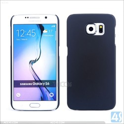 Good Feel Rubber oil Coating Plastic Hard PC Case for Samsung Galaxy S6