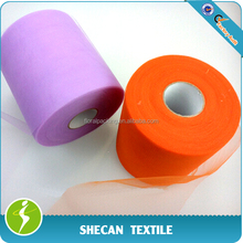 """6"""" x 100yds Tulle roll for wedding decoration"""