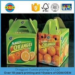 Wholesales Glossy fruit treat box
