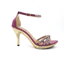 studded beautiful ladies fancy shoes high heel