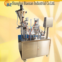 k cup filing machine/Wood Packaging Material and New Condition hot sale automatic rotary k cup coffee machine