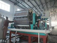 egg tray manufacturing plant from recycle of waste paper