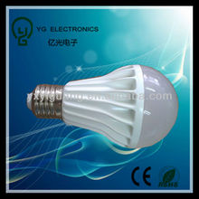 2013 new product E27 Thermal Plastic led bulb raw material