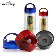 Hot as fire Tritan sport water bottle plastic new, Fruit infusion bottle water bottle, BPA free