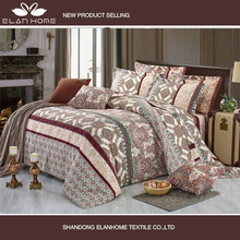 textile design, home use comfortable sheeting, duvet cover, pillow case , bed sheet, full set