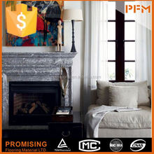 China Factory directly sale Provencial Cast Stone Mantel natural stacked anti-static texture wall covering