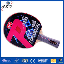 wholesale high quality table tennis racket/ 1 racket & 2 ball & 1 bat case