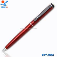 Items of fancy stationery novelty promotion metal twist ball pen slim