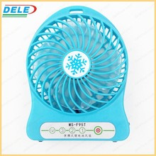 battery powered USB mini rechargeable electric fan