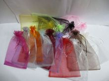 Customized Mini Gift Organza Bag For Sale