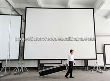 "Fast fold screen with flight case(72""-400"")"