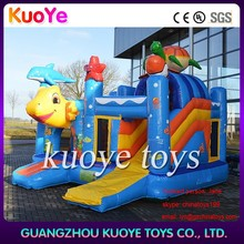 fish inflatable combo games,house jumping games,slide bouncy combo