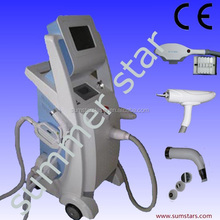 cheapest ipl SHR/multifunction laser beauty machine/back hair removal