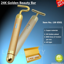 24K golden beauty bar facial massage tools