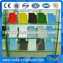 high quality hot sale stained painted decoration glass