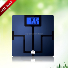 2015 Unique design ITO coated bluetooth body fat weighing scale 180kg / 400lbs contacted to IOS & ANDROID