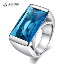 Fashion Stainless Steel CZ Diamond Rings for Women Wholesale