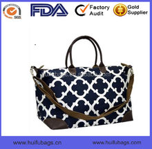 printed travel messenger bag in China custom polyester messenger bag for travel