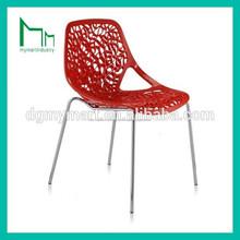 buena calidad y nuevo diseño de color de plástico silla de su casa