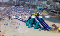 Beach Adult Size Inflatable Water Slide for Sale