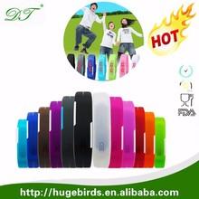 Silicone Digital LED Sports Bracelet Wrist Watch