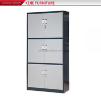 Steel Office Furniture Godrej 4, 3 Drawers Vertical Stainless Steel File Cabinet used Metal Filing Cabinet For Sale