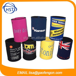 Promotional Neoprene can cooler can holder stubby holder