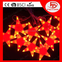 2015 new type christmas decorative snow piece holiday string led decoration lights