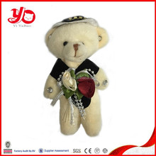 Custom wholesale handmade lifelike bear plush toy