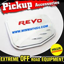 Chrome Fuel Tank Cover For 2015 Hilux Revo
