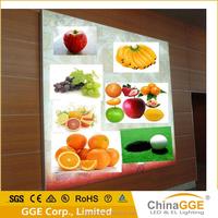 Flexible LED frameless fabric outdoor led light advertising for wall mounting