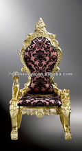 DXY-B05B# throne chairs french provincial living room furniture