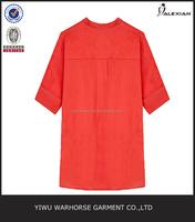 New design blouse women shirt model