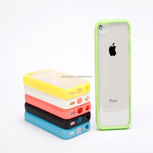 Hot sale PC+TPU Mobile Phone Case for Apple iPhone 5C Classic Style Cellphone Case