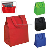 grocery cooler pp non woven tote shopping bag for promotion