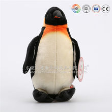 cute big eyed plush toy live penguin for sale