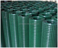 """hot sale 1/2"""" square PVC Coated Welded Wire Mesh"""
