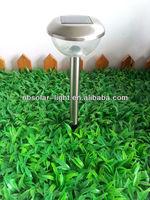 2 pole garden solar light pumpkin lamp