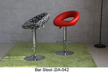 Special Used commercial furniture bar furniture leather metal bar stool