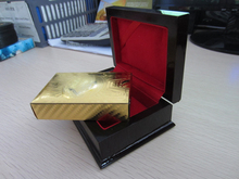 WQ Gold-Plated Playing Cards Manufacturer/The Do