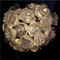 led christmas holiday party wedding outdoor indoor bettery solar rose rose flower fairy string light
