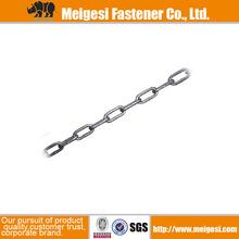 Fournir standard din766/din763 en acier au carbone plaqué zinc de bonne qualité et le prix lien stud chaîne d'ancre