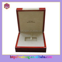 Handmade Wood Craft Medal Box/Cufflink Box/Coin Box Packaging Wholesale