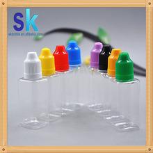 new type bottle 10ml dropper bottle 10ml plastic e juice bottle square mass stock
