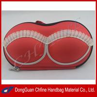 CFBCD3-00030 EVA hard shell storage or traveling bra shaped bag