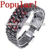 Alibaba express very popular watch,led men watch wholesale 2014