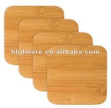 4 piezas de madera/montaña de bambú para promocionales
