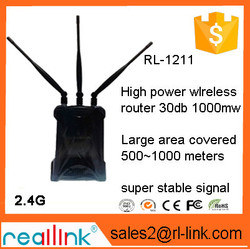 wifi multi-function wireless router Supports AP router,bridge,AP Client