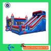 cheap high quality inflatable bouncy castle with slide