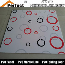 High Quality Building Material Hot Stamping PVC Panel for Interior Decoration Pvc Ceiling Designs